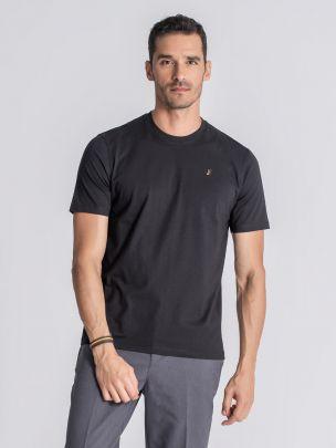 T-Shirt Cataldi Preto | JEF