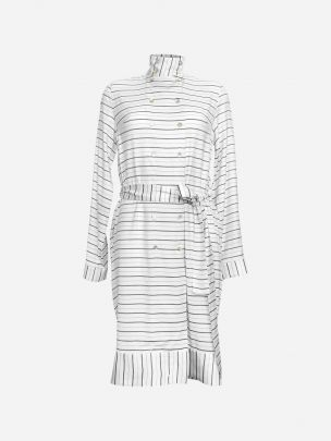 Striped Shirt Dress | Luís Carvalho