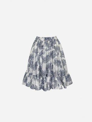 Godé Embroidery Skirt