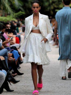 Godé White Skirt
