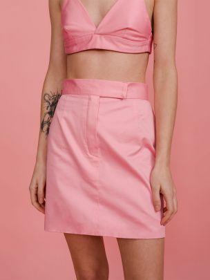 Mini Saia Flamingo Pink