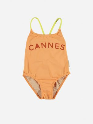 """Baby Swimsuit with Crossed Straps """"cannes"""""""