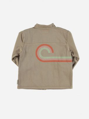 """Jacket Nut with Tricolor """"Wave"""""""