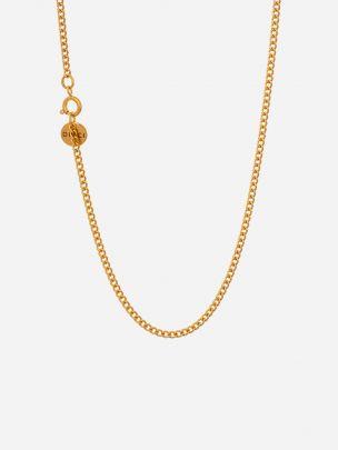 Colar Dourado Milano | Dicci