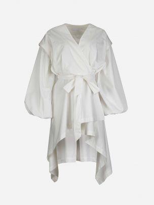 Vestido Branco Easy-Going   Misses White