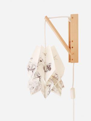 Endangered Origami Wall Lamp | Orikomi