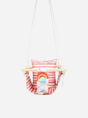 Baloiço para Bebé Pink Rainbow