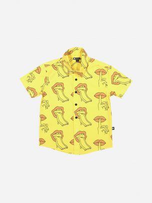 Camisa Amarela Estampado Escorrega | YAY
