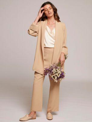 Blazer Isabella Dourado | Wheat & Rose