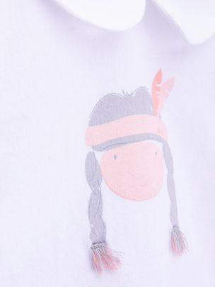 Body T-shirt Bebé Pocahontas | Knot