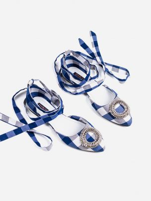 Sapatos Vichy Cristal Sophia | Friendly Fire