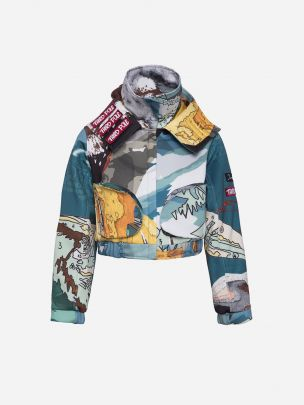 Bomber Estampado Mountain | Duarte