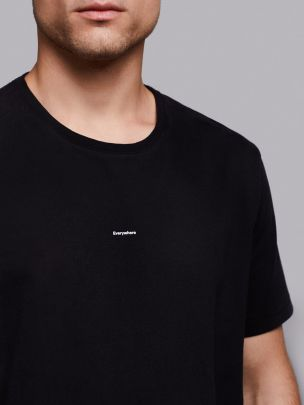 T-shirt Everywhere Preta | Wetheknot