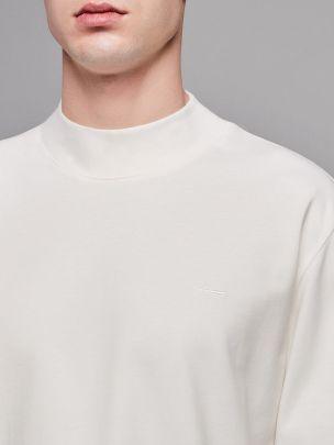 Camisola Mock Neck Branca | Wetheknot