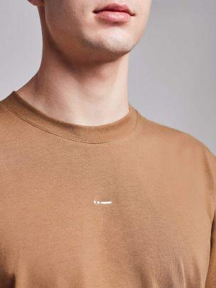 T-shirt Castanha Relaxed   Wetheknot