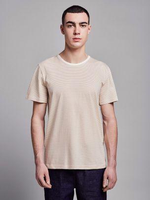 T-shirt Riscada Bege | Wetheknot