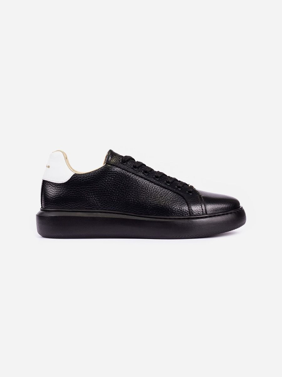 Black Sneakers White Detail