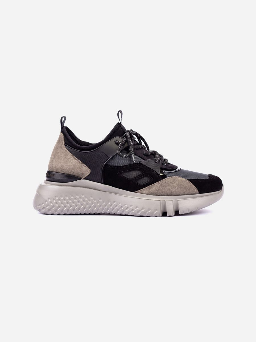 Grey Chunky Sneakers
