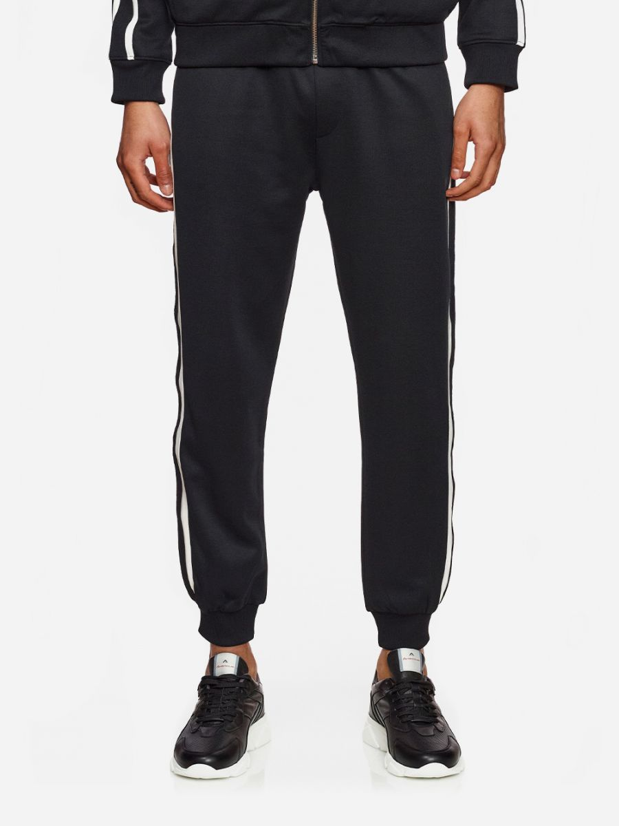 Black Track Suit Pants