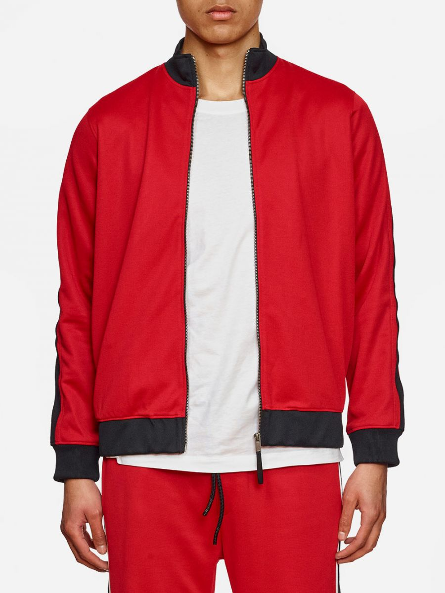 Red Track Suit Jacket