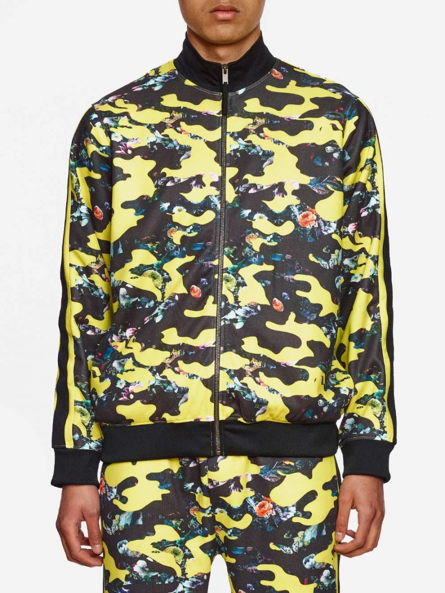 Camouflaged Track Suit Jacket