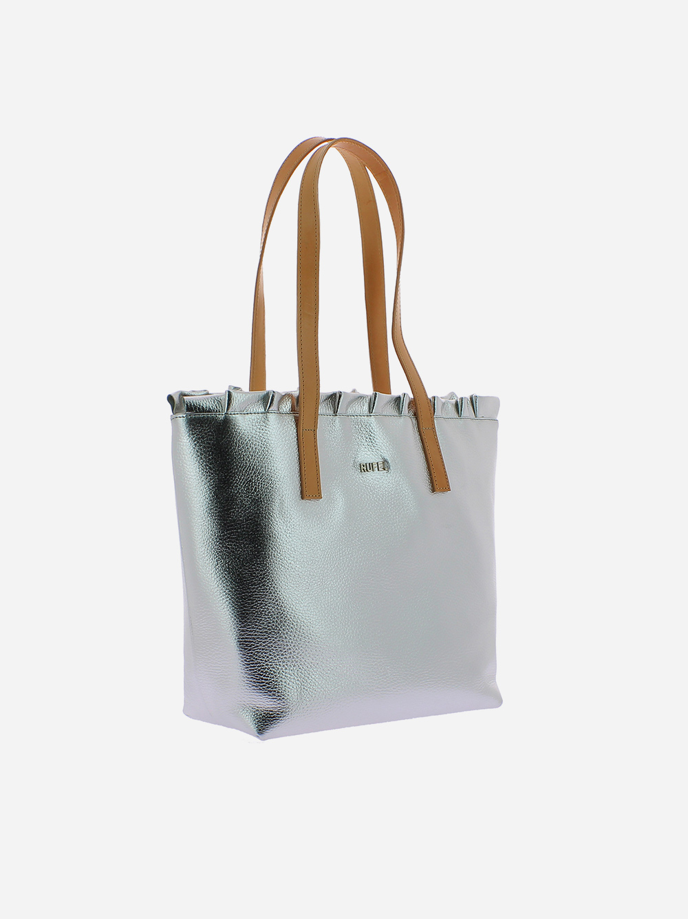 Silver Shoulder Bag