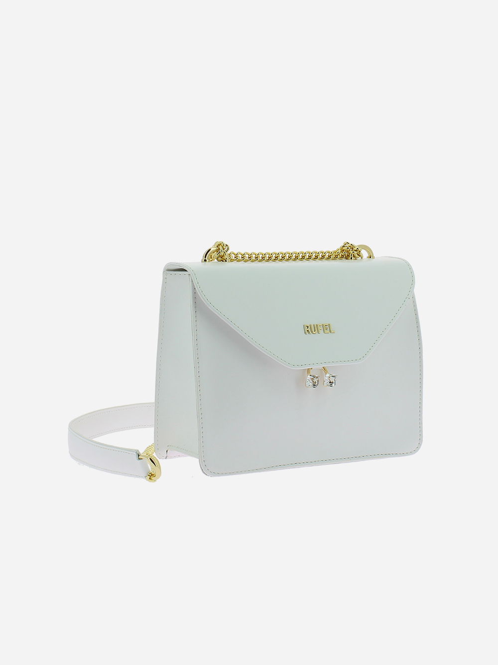 White PU Shoulder Bag