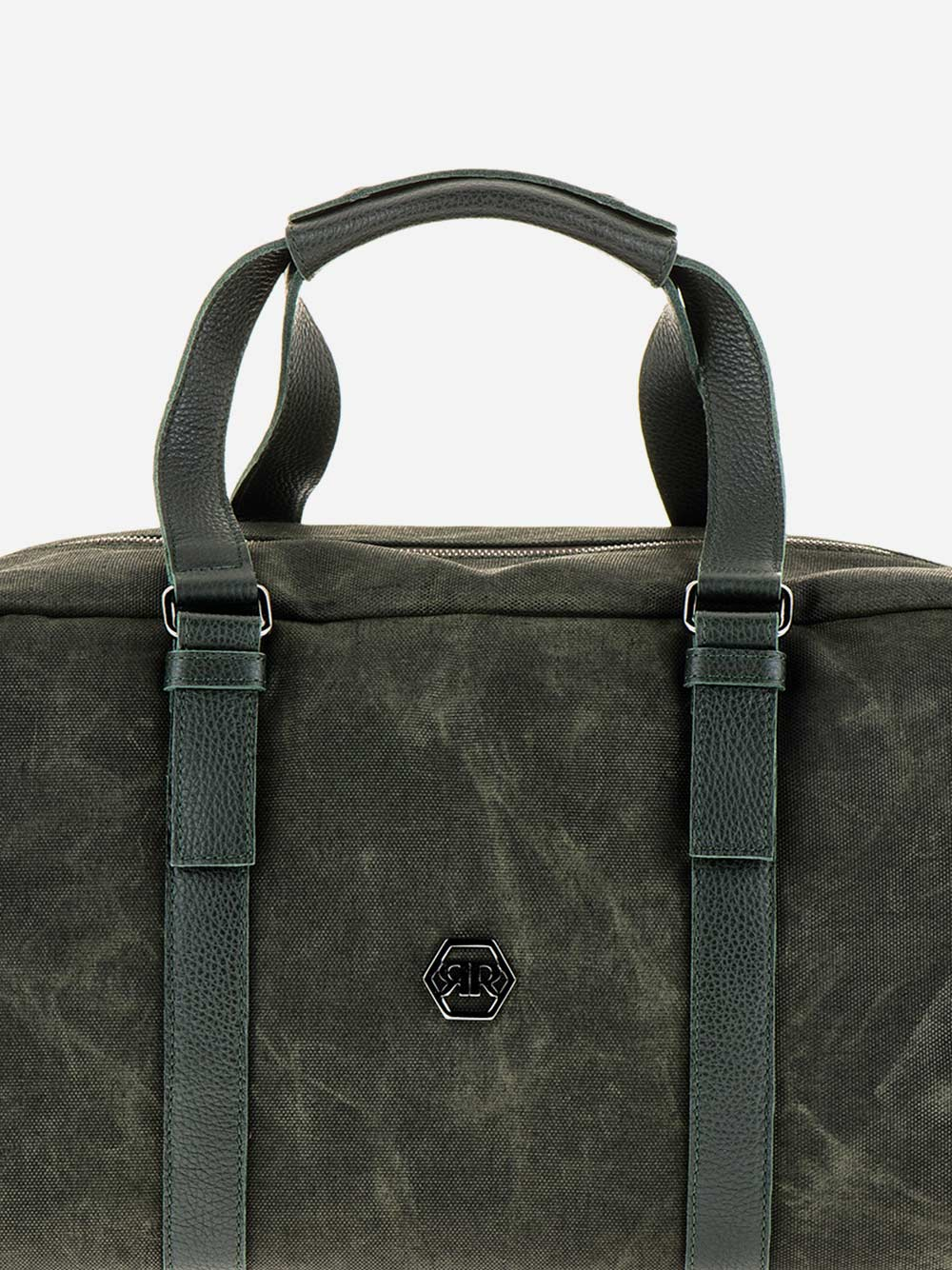 Green Nylon Weekend Bag
