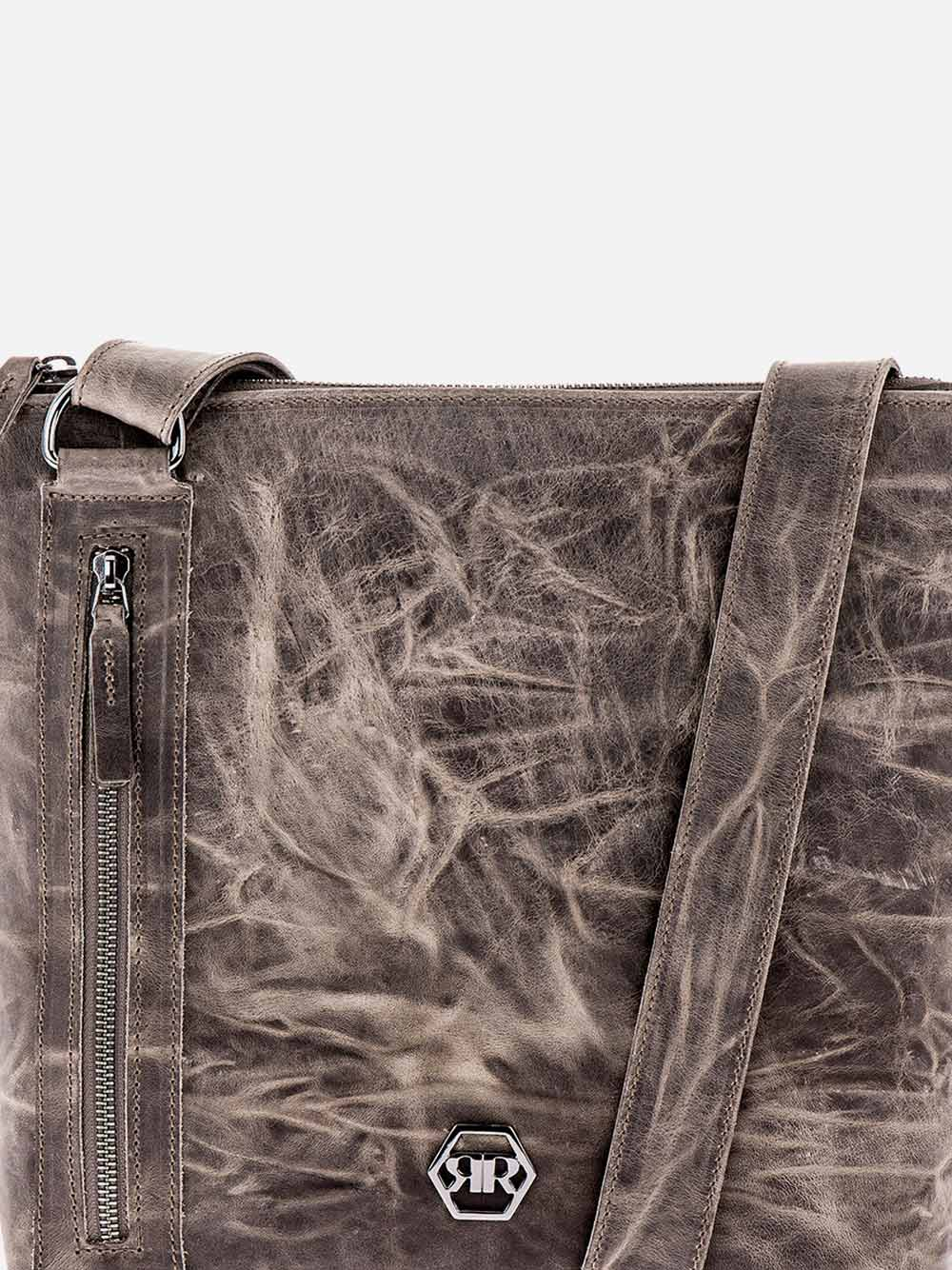 Taupe Squared Crossbody