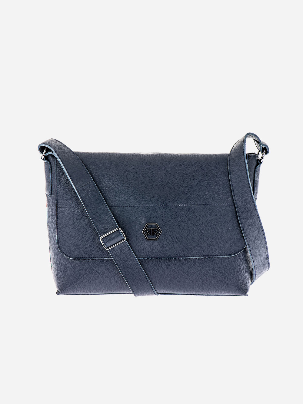 Blue Rectangular Crossbody