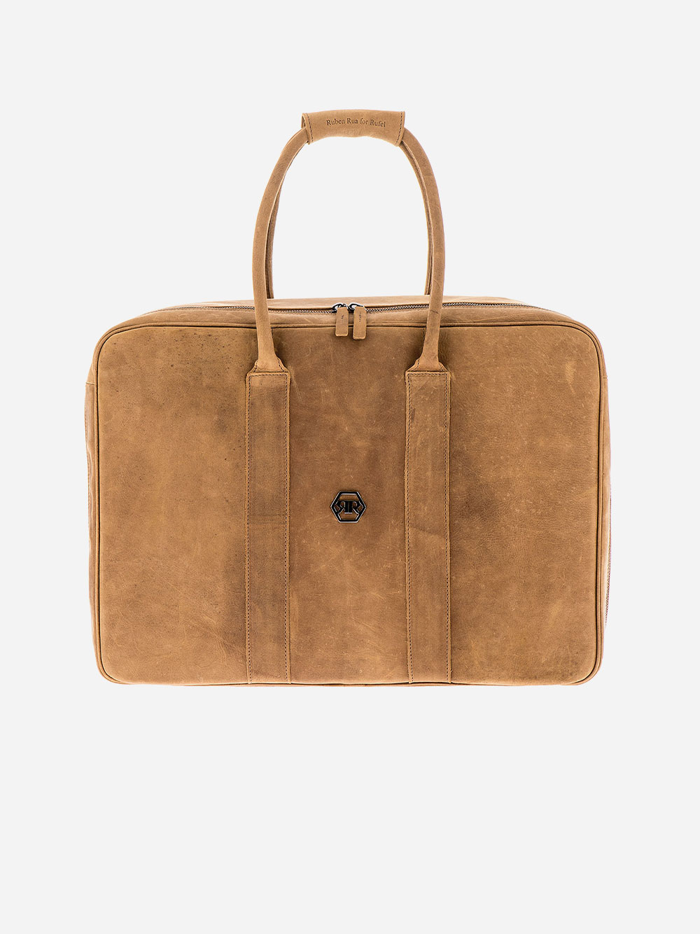 Rustic Camel Weekend Bag