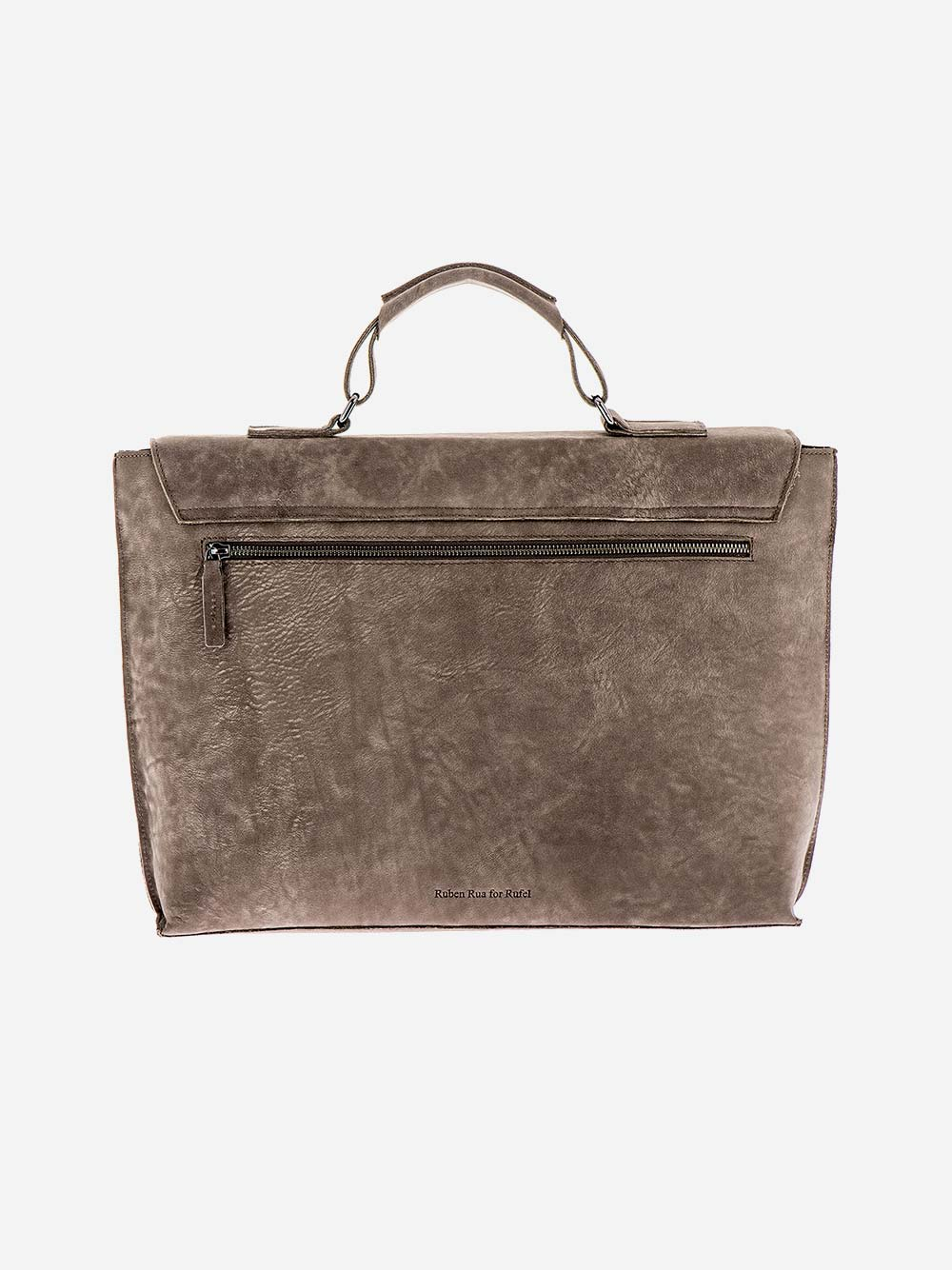 Rustic Grey Briefcase