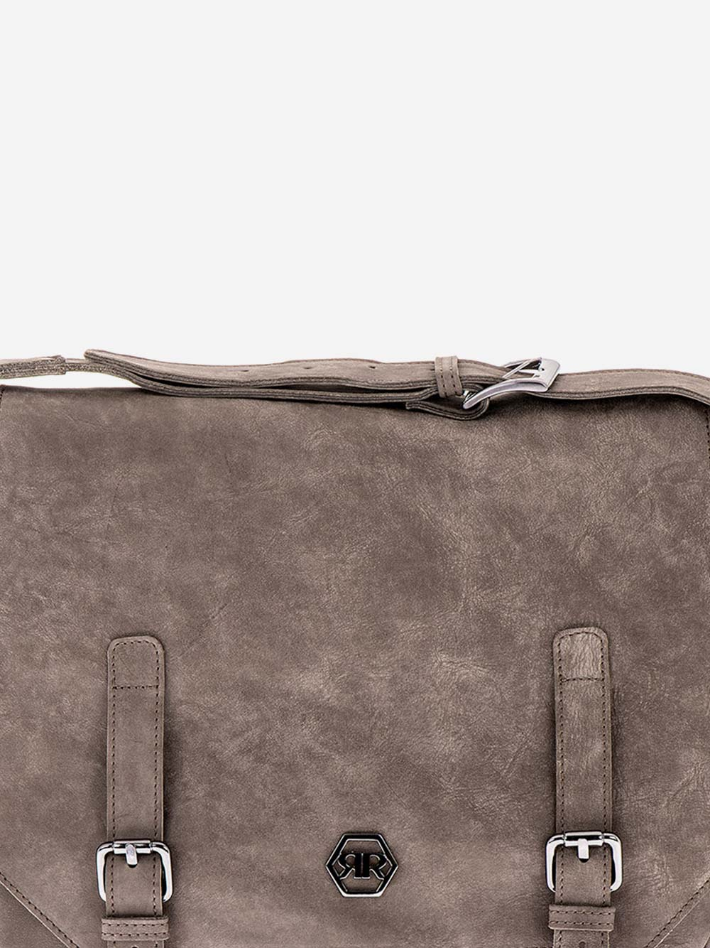 Rustic Grey Messenger Bag