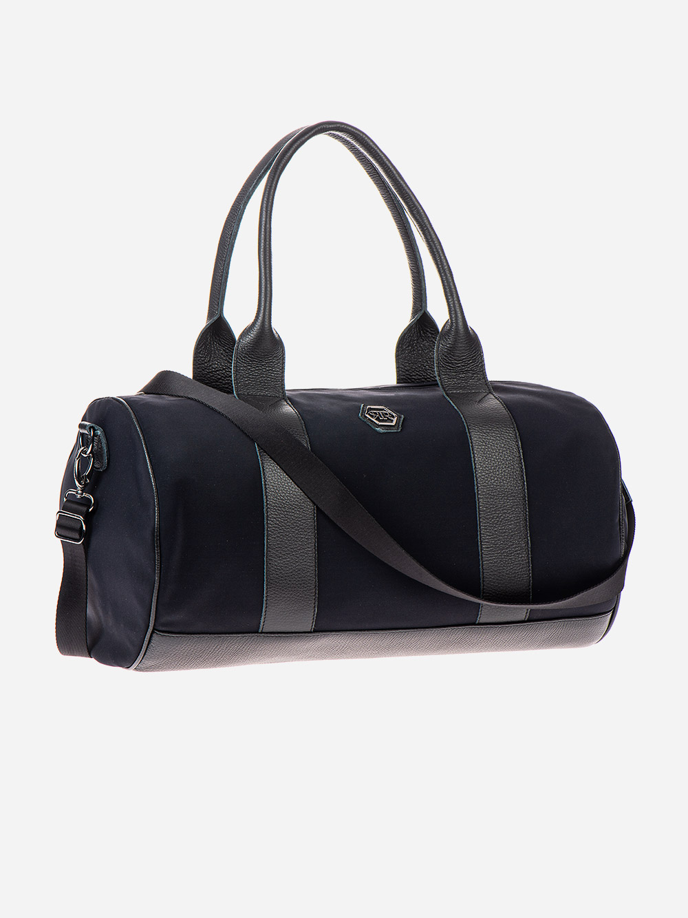 Black Nylon Sports Bag