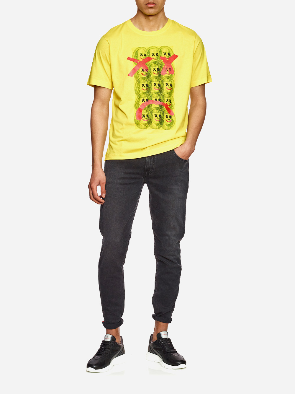 Yellow T-Shirt With Print